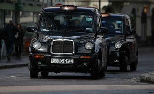 Illustration taxi à Londres