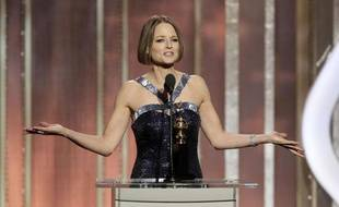Jodie Foster à la cérémonie des Golden Globes, le 13 janvier 2013 à Beverly Hills.