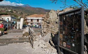 Un séisme de magnitude 4.8 a frappé une zone proche de l'Etna, le volcan sicilien, le 26 décembre 2018.