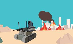 Illustration robots tueurs