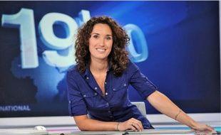 Marie-Sophie Lacarrau, joker du « 19/20 » avec Christelle Méral et Stéphane Bijoux.