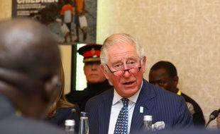 Le Prince Charles à une réunion pour l'accès à l'eau dans le monde, à Londres, le 10 mars 2020.