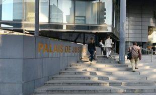 Entrée du Palais de justice de Grenoble