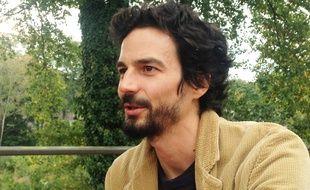 Pablo Servigne à Crest, dans la Drôme, le 16 octobre 2018.
