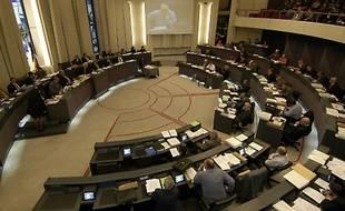L'hémicycle du Conseil général de l'Hérault