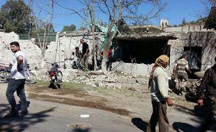 Une maternité de l'ONG Save The Children, dans la province d'Idleb,  bombardée le 29 juillet 2016.