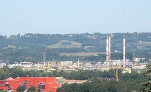 Le bassin industriel de Lacq