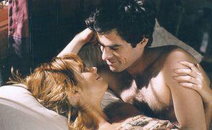 Kelly Reilly et Romain Duris dans L'Auberge espagnole.