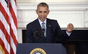 Barack Obama s'exprime sur la situation en Syrie, le 2 octobre 2015.