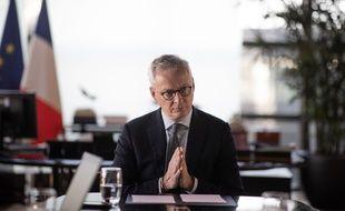 Le ministre Bruno Le Maire