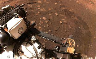 Le rover Perseverance continue à tracer sa route. (Illustration)