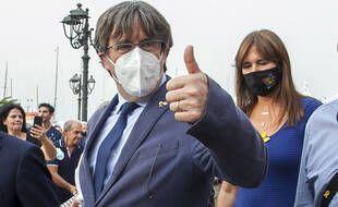 Carles Puigdemont en Sardaigne le 25 septembre 2021