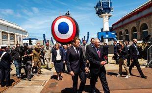 Emmanuel Macron avait invité la ministre de la Défense australienne lors de l'inauguration du sous-marin Suffren en 2019.