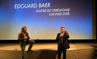 Edouard Baer et Gerald-Brice Viret à Canal+