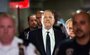 Harvey Weinstein à l'arrivée au tribunal à Manhattan, en juin 2018.