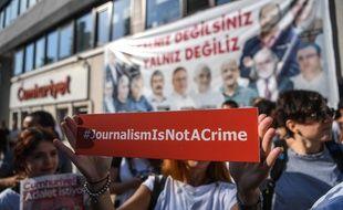 25 journalistes ont été condamnés en Turquie pour leurs liens supposés avec la tentative de putsch en 2016 (illustration).