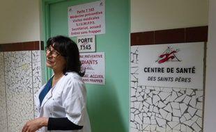 L'entrée du centre de santé des Saints-Pères