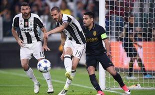 Monaco affronte la Juventus en Italie, pour la demi-finale retour de Ligue des champions, le 9 mai 2017.