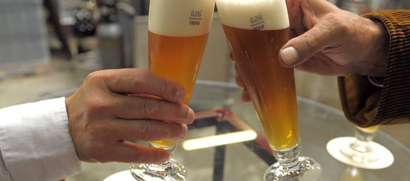 Bière. (Illustration)