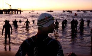 Un triathlon à Cascais, au Portugal, le 29 septembre 2019 (photo d'illustration).