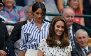 Lors du tournoi de Wimbledon, les duchesses s'affichaient encore tout sourire...