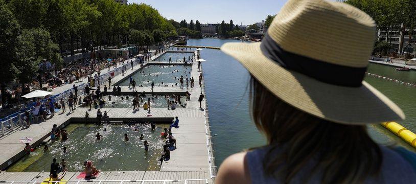 La baignade pourrait se développer en Ile-de-France d'ici à 2025.