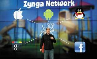 Manuel Bronstein, manager général du site zynga.com.