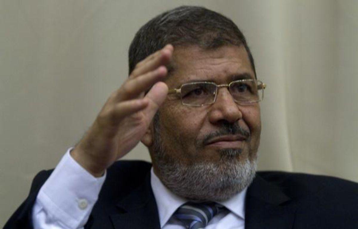Le président égyptien, Mohamed Morsi, le 13 juin 2012. – LEVINE/SIPA