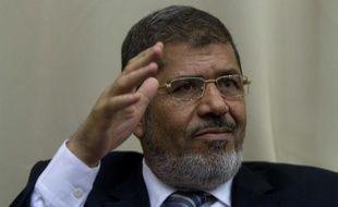 Le président égyptien, Mohamed Morsi, le 13 juin 2012.