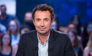 Victor Robert, le présentateur du «Grand Journal» sur Canal+