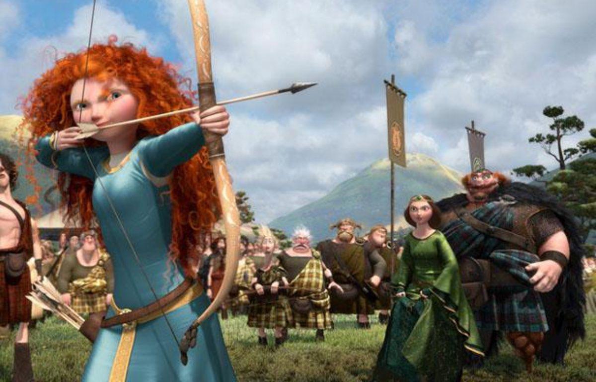 Extrait du film d'animation de Pixar «Rebelle». – Walt Disney