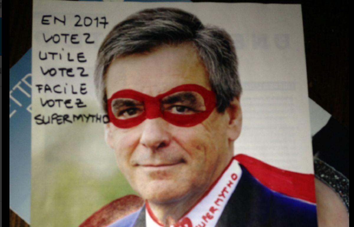 Capture d'écran d'un des détournements visant François Fillon partagé sur Twitter. – @CorrigeFillon