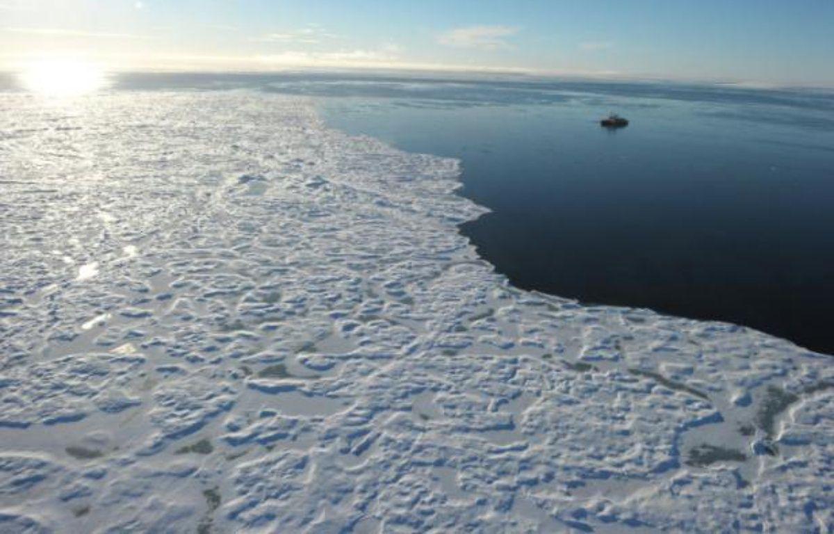 Les eaux de l'Arctique le 27 septembre 2015 – Clement Sabourin AFP