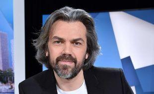 Le journaliste Aymeric Caron, à Paris, le 3 mai 2016.