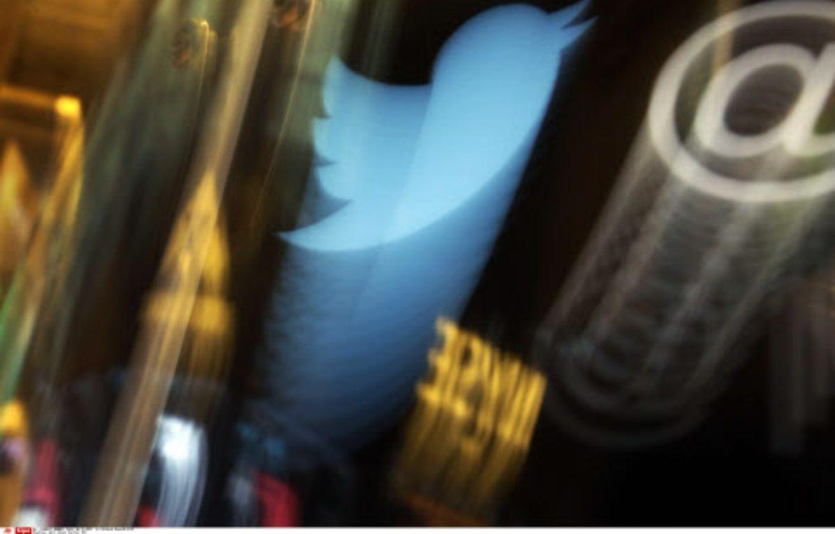 Le logo de Twitter à la bourse de Wall Street le 6 novembre 2013. – Richard Drew/AP/SIPA