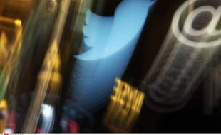 Le logo de Twitter à la bourse de Wall Street le 6 novembre 2013.