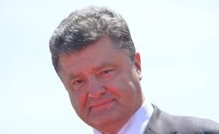 Le Président ukrainien Petro Petro Porochenko