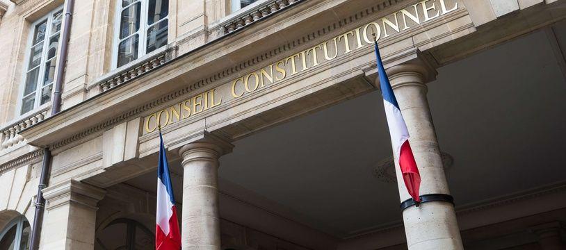 Le bâtiment du Conseil constitutionnel à Paris, le 3 avril 2017.