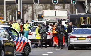 Une fusillade s'est produite à Utrecht, aux Pays-Bas, ce lundi 18 mars 2019.