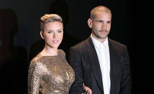 L'actrice Scarlett Johansson et son mari, le journaliste Romain Dauriac