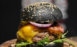 Le burger Black OG de Vincent Boccara