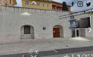 Une visite virtuelle de l'exposition Soulages, à l'espace Lympia du port de Nice, est proposée
