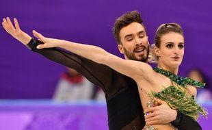 Gabriella Papadakis et Guillaume Cizeron, à Pyeongchang, le 19 février 2018.