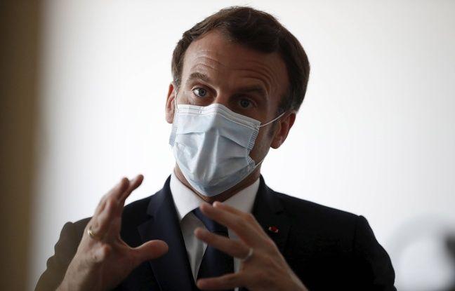 Coronavirus en Bretagne: Emmanuel Macron dit oui à la relance de l'usine de masques fermée en 2018