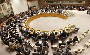 La réunion du Conseil de sécurité de l'ONU débute, au siège des Nations Unies, à New York, le 9 juin 2010.