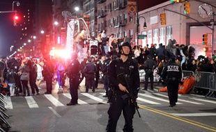 La police mobilisée mardi 31 octobre à New York après une attaque terroriste à la camionnette bélier.
