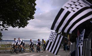 La 108e édition du Tour de France s'élancera de Brest samedi.