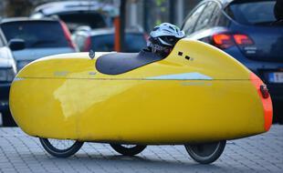 Le vélomobile fait partie des nombreux modes de déplacement intermédiaires