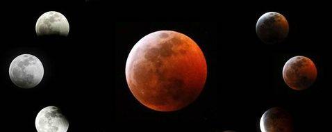 L'éclipse de Lune du 21 janvier 2019
