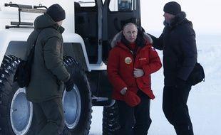 Le président russe, Vladimir Poutine, en visite dans l'Arctique le 29 mars 2017.
